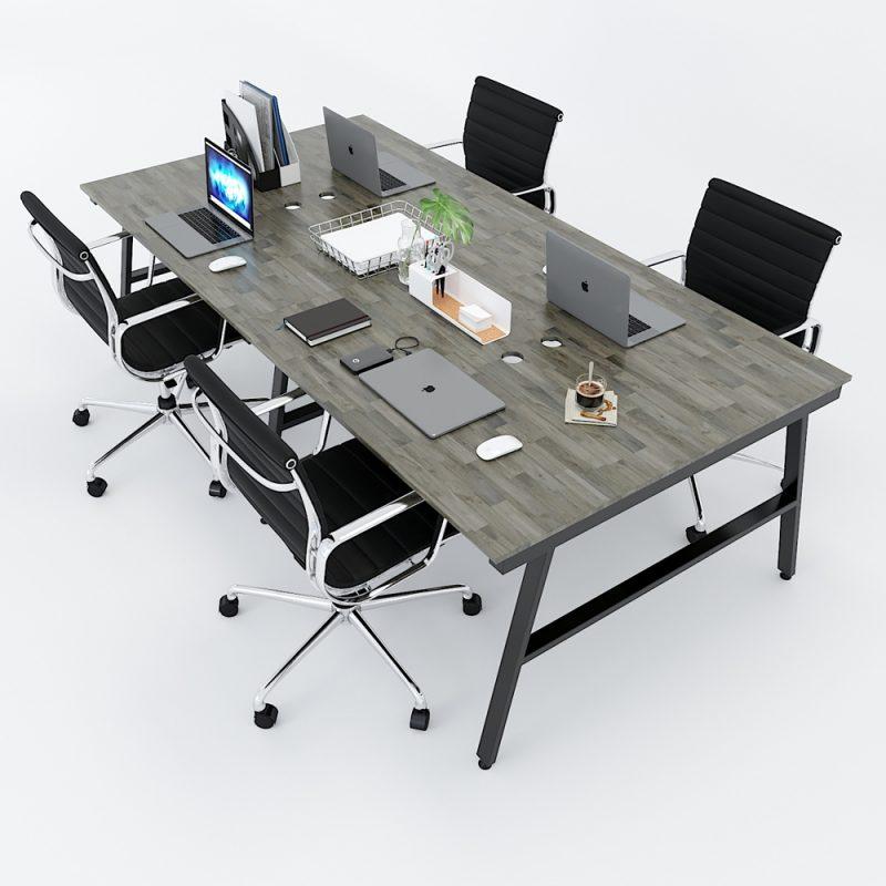cụm bàn làm việc 4 chỗ