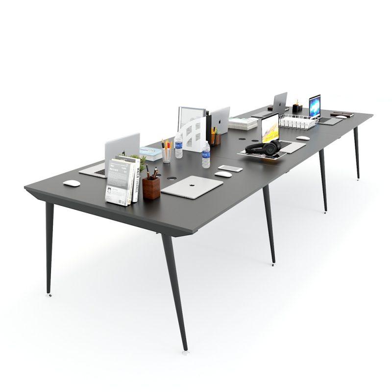 bàn làm việc nhóm 6 người
