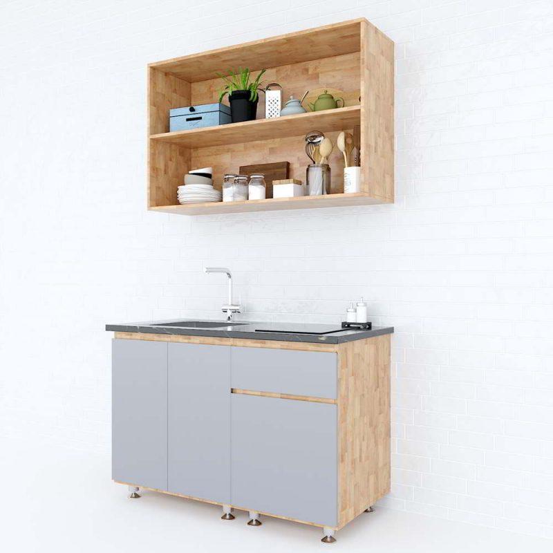 Hệ tủ bếp mini đẹp