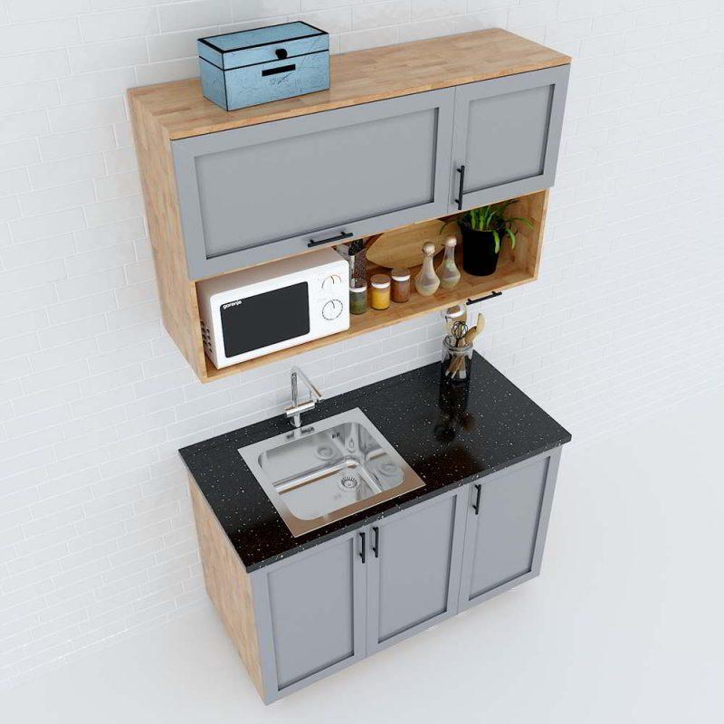 hệ tủ bếp mini giá rẻ